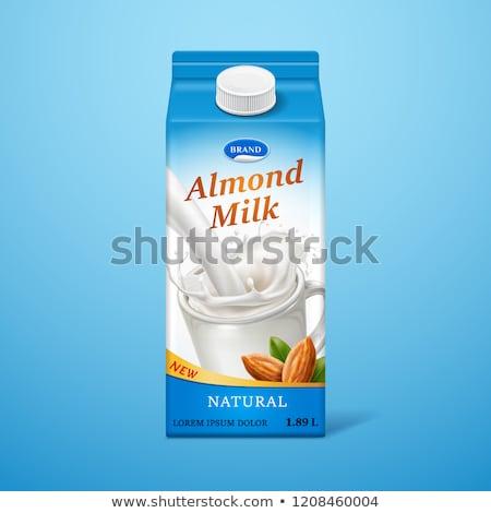 Dairy carton  Stock photo © coprid