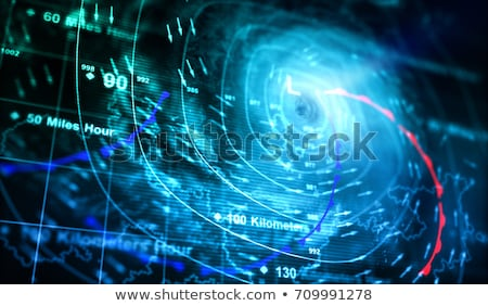 Weather map Stock photo © cundm