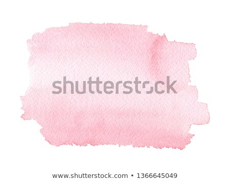 wedding invitation card with pink watercolor splash paint effect stock photo © sarts