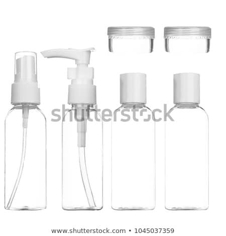 Top of squeeze spray bottle Stock photo © Klinker