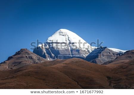 Paisagem famoso céu natureza gelo Foto stock © bbbar