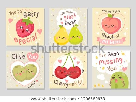 my cherry love stock photo © fisher