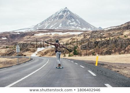 Longboard skating Stock photo © wavebreak_media