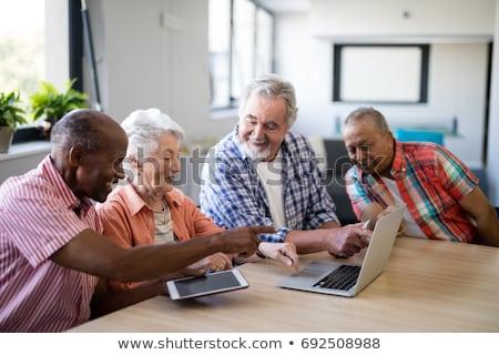 doktor · dijital · tablet · portre · hastane · Internet - stok fotoğraf © wavebreak_media
