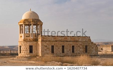Kápolna keret kolostor helyszín folyó eredmény Stock fotó © Zhukow