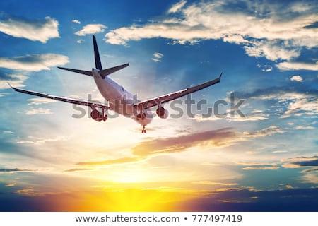 Mi elvesz kereskedelmi légitársaság világ turizmus Stock fotó © studioworkstock