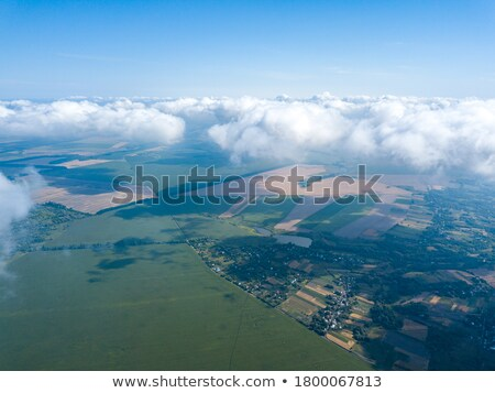 Clouds over land Stock photo © IS2