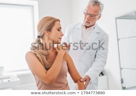 woman orthopedist stock photo © adrenalina