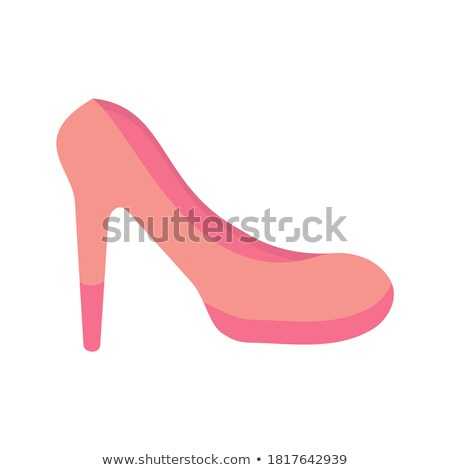 Pretty Pump Isolated on White Vector Illustration Stock photo © robuart