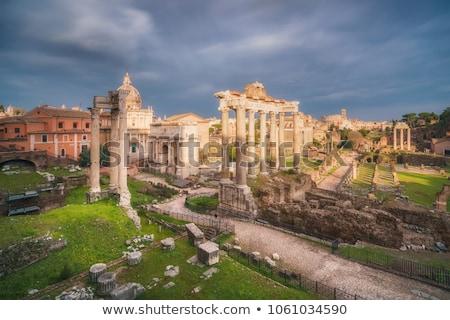 Ancient roman temple Stock photo © Hofmeester