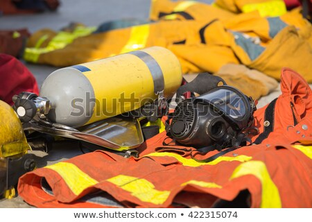 Equipment and tools fireman Stock photo © sharpner