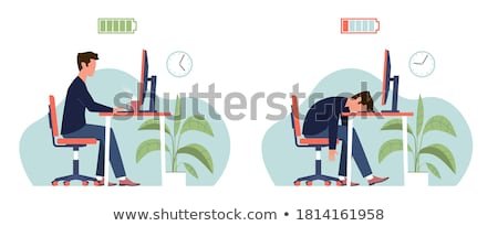 Occupational Burn-out Concept Stock photo © olivier_le_moal