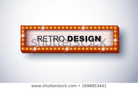 bannière · vecteur · casino · vintage · style - photo stock © articular