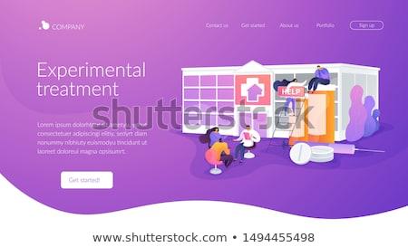 droga · reabilitação · centro · médico · tratamento - foto stock © rastudio