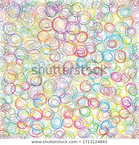 Hand veelkleurig potloden geïsoleerd zwarte papier Stockfoto © boggy