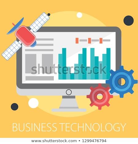 tiempo · trabajo · proceso · negocios · diseno · proyecto - foto stock © robuart