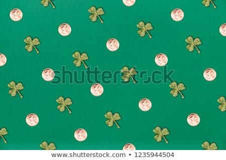 klaver · blad · naadloos · vector · patroon · dag - stockfoto © kali