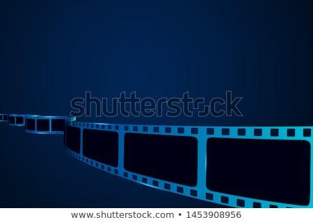 cinema · filme · bandeira · tempo · ícones · rolo · de · filme - foto stock © -talex-
