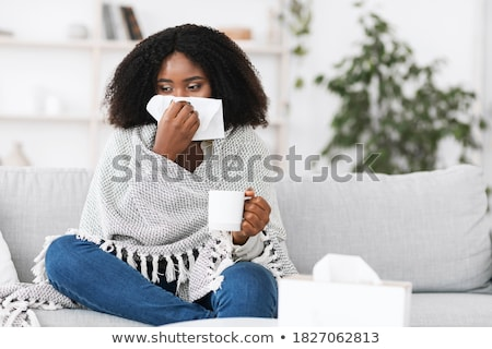 kadın · sıcak · fincan · gıda - stok fotoğraf © artjazz