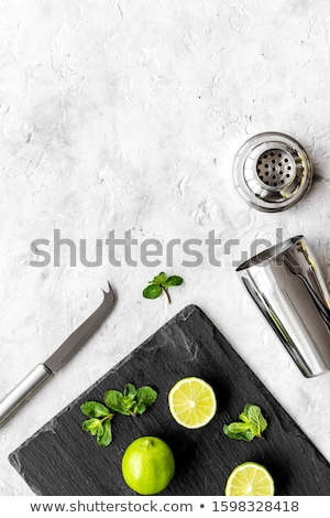 Tools on a metal background with copy space Stock photo © Zerbor