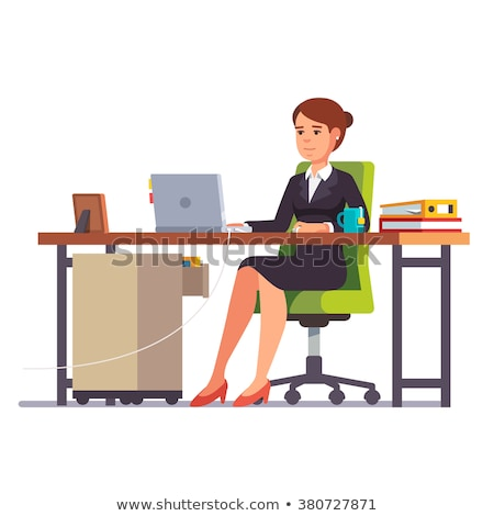 3d business woman overworked Stock photo © 3dmask