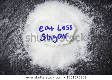Reduce Sugar Concept Stock photo © AndreyPopov