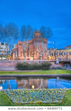 Le Castillet fortress in Perpignan, France Stock photo © nito