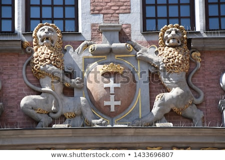 Detail of a historical building in the Old Town in Gdansk, Poland Stock photo © Anneleven