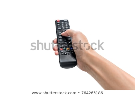 Universal control remoto aislado blanco alto Foto stock © oneo