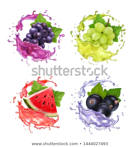 sıçrama · üzüm · şarap · doğa · meyve · çerçeve - stok fotoğraf © pixelman