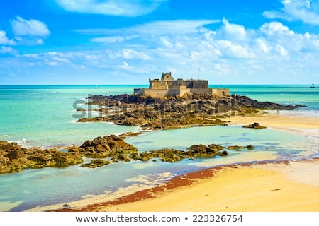 The Fort National from Saint Malo Stock photo © RazvanPhotography
