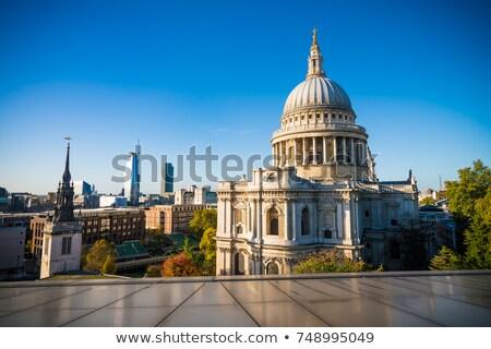 собора Лондон небе облака Церкви Сток-фото © latent
