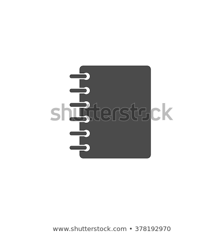 abstract · notebook · icon · kantoor · vergadering · pen - stockfoto © pathakdesigner