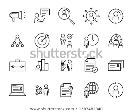 human development icons stock photo © jesussanz