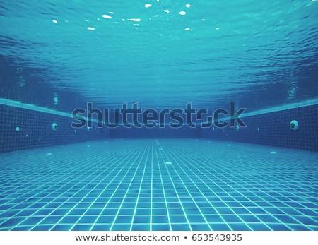 ステンレス · はしご · プール · 水 · 夏 · 楽しい - ストックフォト © nuttakit