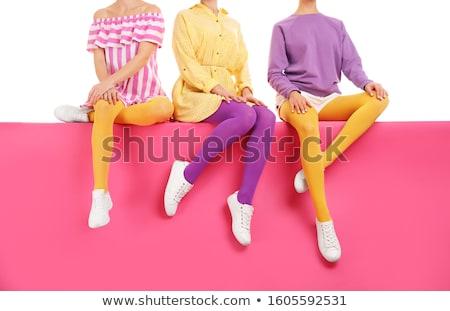 colored tights Stock photo © njaj