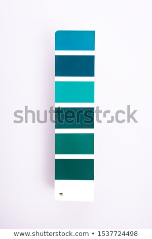 Paint colour samples Stock photo © photography33