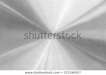 körkörös · rozsdamentes · acél · textúra · terv · háttér · fém - stock fotó © artjazz