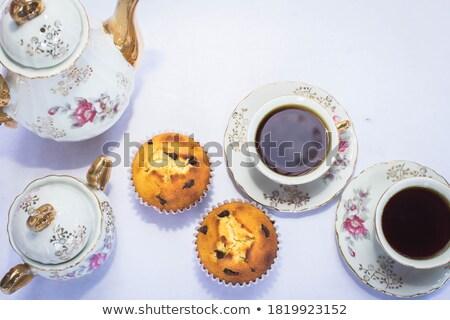 copo · café · tarde · beber - foto stock © stuartmiles