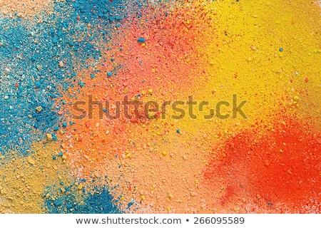 Sticks of pastel colored chalk Stock photo © ozaiachin