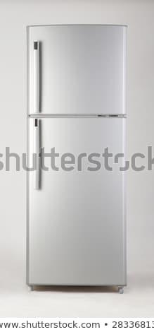 冷凍庫 黒 白 パス 冷蔵庫 ストックフォト © ozaiachin