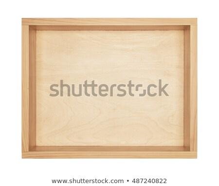 Bottom of the wooden box Stock photo © Coffeechocolates