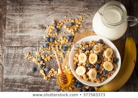 Crunchy musli Stock photo © Stootsy
