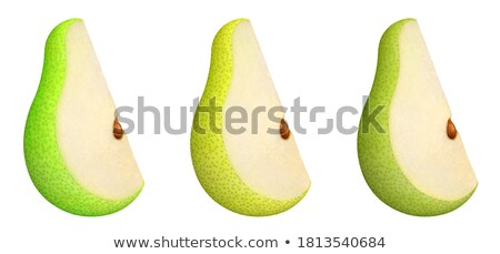 Pear pulp with seeds Stock photo © AlessandroZocc