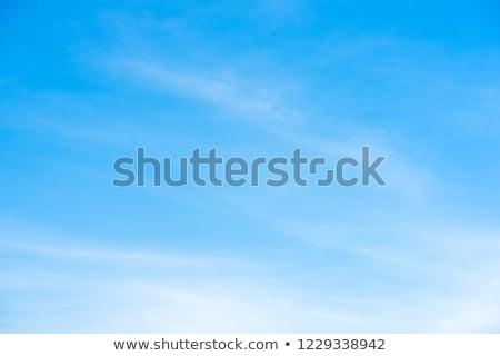 Mavi gökyüzü bulut gökyüzü doğa yaz gündoğumu Stok fotoğraf © cheyennezj