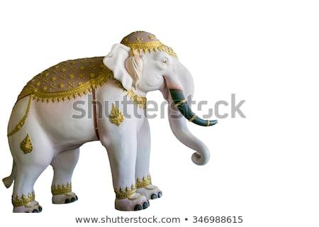 White elephant statue  Stock photo © bbbar