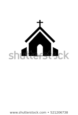 Stok fotoğraf: Vector Icon Church