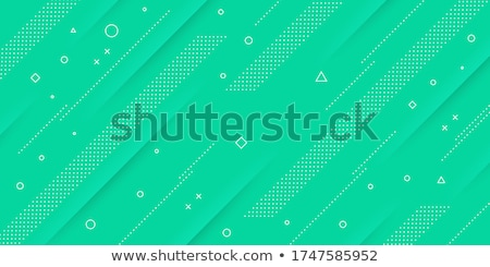Stock photo: abstract green web background