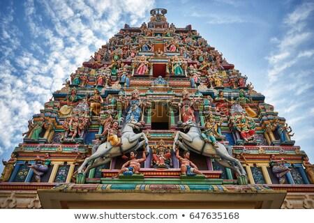 tarka · buddhista · templom · gyönyörű · utazás · kastély - stock fotó © pzaxe