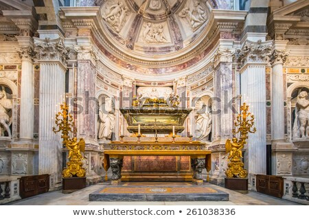 интерьер предположение собора золото потолок Сток-фото © ifeelstock